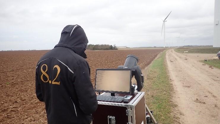 Inspections de pales : Un photoscope pour des inspections depuis le sol