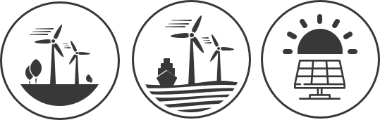 technical due diligence solar, onshore and offshore wind