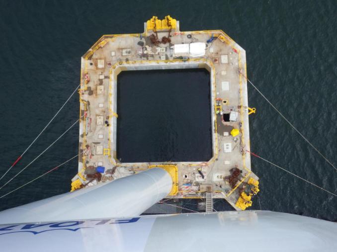 éolien offshore flottant