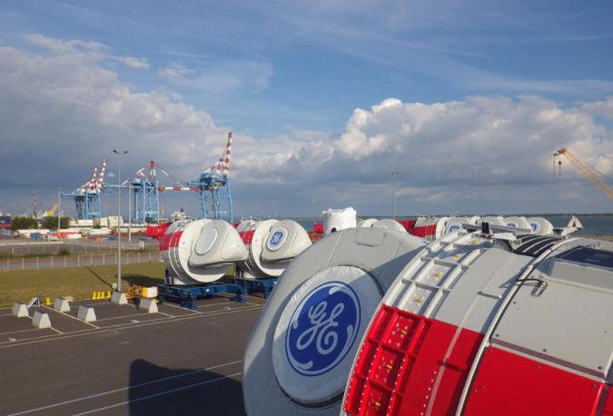 Eolien offshore contrôle en usine